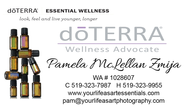 doTERRA Business Card - YLAAE
