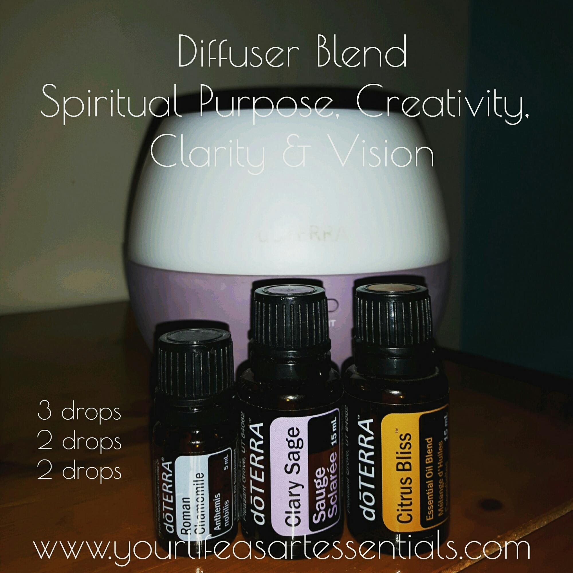 Spiritual Purpose, Creativity, Clarity & Vision | Diffuser