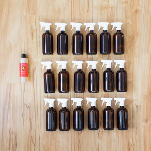 8-22-16 onguard concentrate - 1 bottle makes 18 bottles