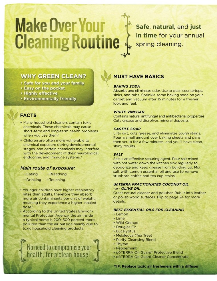 doterra on guard cleaner pdf