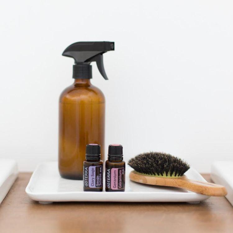 Hair Geranium and Clary Sage