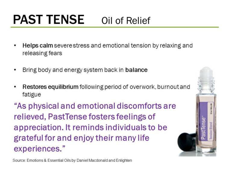 Past Tense - Oil of Relief