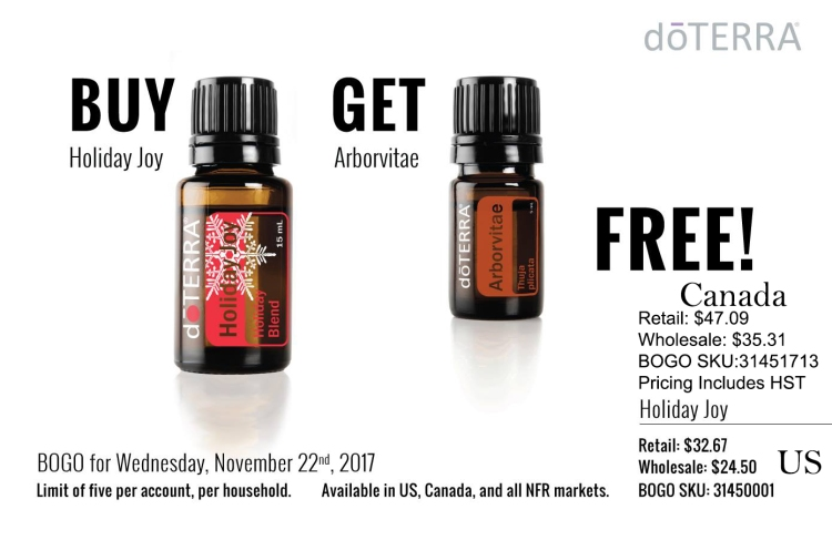 Holiday Joy and Arborvitae - US and Canadian Pricing